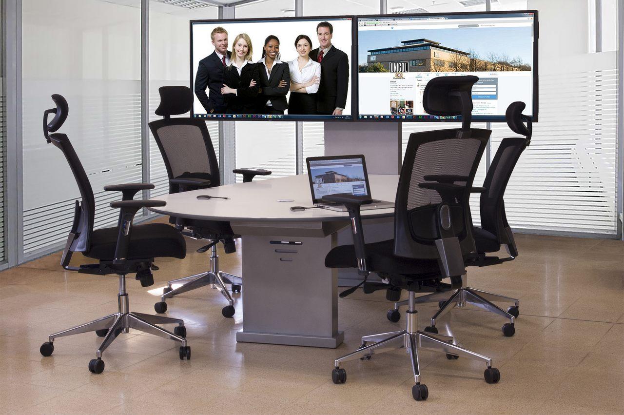 Collaboration auf allen Geräten Telefon Videokonferenzen